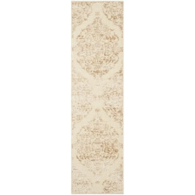 Maspeth Stone Contemporary Area Rug Rug Size: Runner 22 x 8