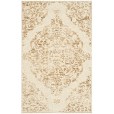 Maspeth Stone Contemporary Area Rug Rug Size: 76 x 106