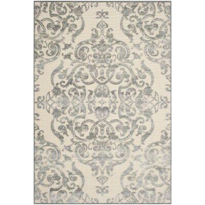 Berloz Grey / Multi Contemporary Area Rug Rug Size: 8 x 112