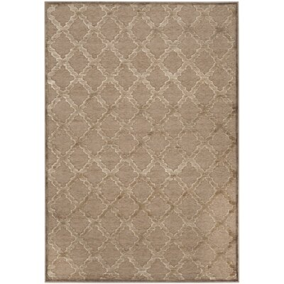 Maspeth Camel Area Rug Rug Size: Rectangle 76 x 106