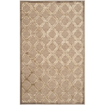 Maspeth Camel Area Rug Rug Size: Rectangle 53 x 76