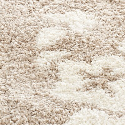 Flanery Light Beige Area Rug Rug Size: 8 x 10