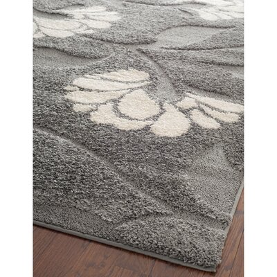 Marybell Gray/Beige Area Rug Rug Size: Rectangle 86 x 12