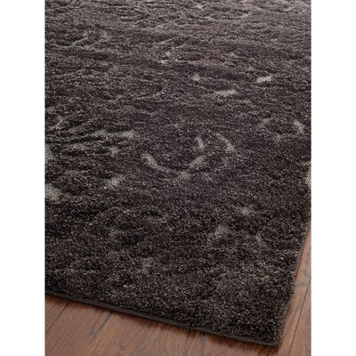 Gustav Dark Smoke Area Rug Rug Size: Rectangle 8 x 10