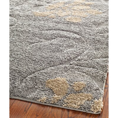 Flanery Gray/Beige Area Rug Rug Size: 8 x 10