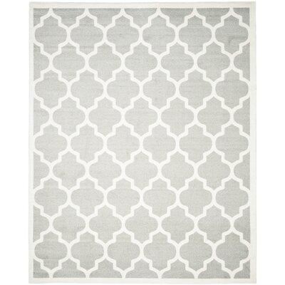 Levon Gray/Beige Area Rug Rug Size: 9 x 12