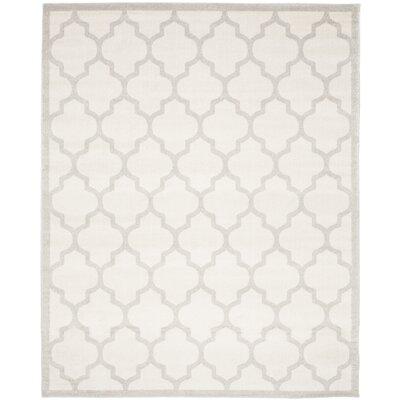 Levon Beige/Light Grey Area Rug Rug Size: 10 x 14