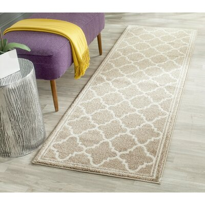 Maritza Wheat/Beige Area Rug Rug Size: Rectangle 5 x 8