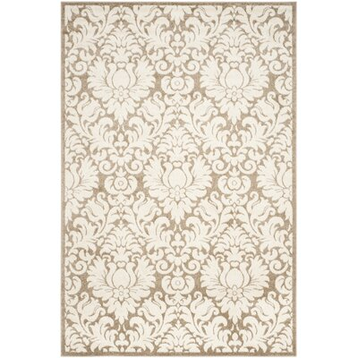 Maritza Wheat/Beige Area Rug Rug Size: Rectangle 6 x 9