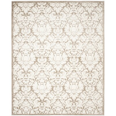 Maritza Wheat/Beige Area Rug Rug Size: Rectangle 8 x 10