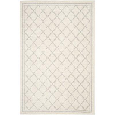 Maritza Beige/Light Grey Area Rug Rug Size: Rectangle 5 x 8