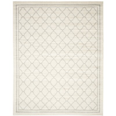 Maritza Beige/Light Grey Area Rug Rug Size: Rectangle 8' x 10'