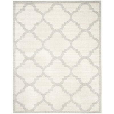 Maritza Beige & Light Gray Indoor/Outdoor Area Rug Rug Size: Rectangle 11 x 15
