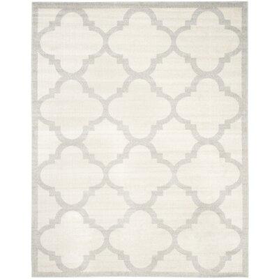 Maritza Beige & Light Gray Indoor/Outdoor Area Rug Rug Size: 8 x 10