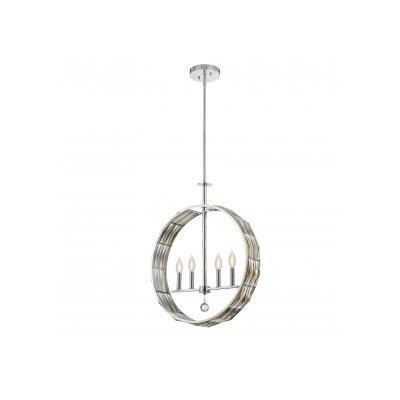 Marlohe 4-Light Globe Pendant