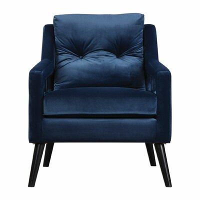 McDormand Velvet Armchair