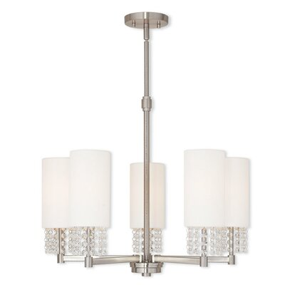 Dor 5-Light Shaded Chandelier