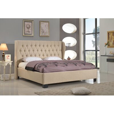 Merriam Upholstered Platform Bed Size: King