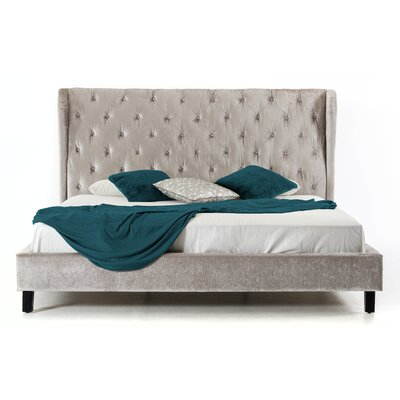 House of Hampton Kampenhout King Upholstered Platform Bed