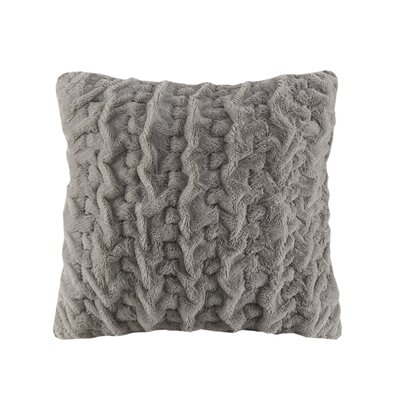 Fellner Euro Pillow Color: Gray