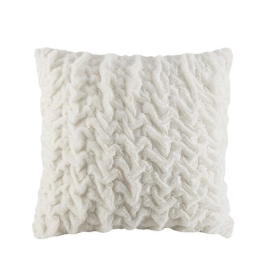 Borden Euro Pillow Color: Ivory