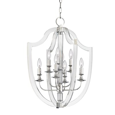 Elishia 8-Light Mini Pendant Finish: Polished Nickel