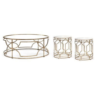Taraji 3 Piece Coffee Table Set