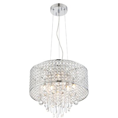 Shamberg 6-Light Crystal Chandelier