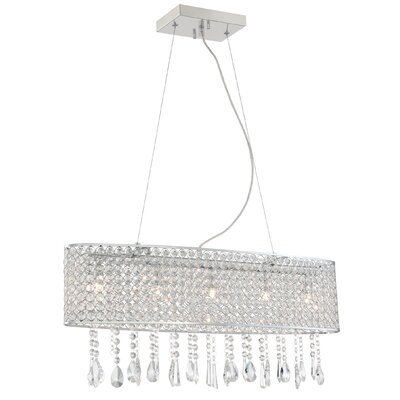 Shamberg 5-Light Kitchen Island Pendant