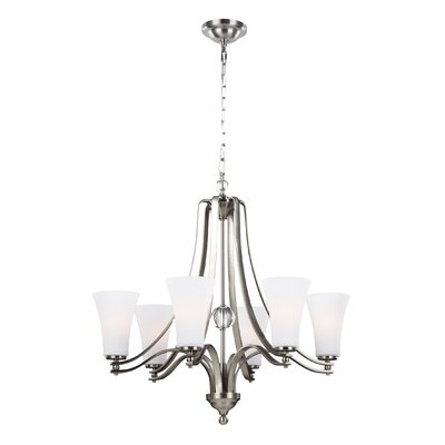 Scheider 6-Light Shaded Chandelier