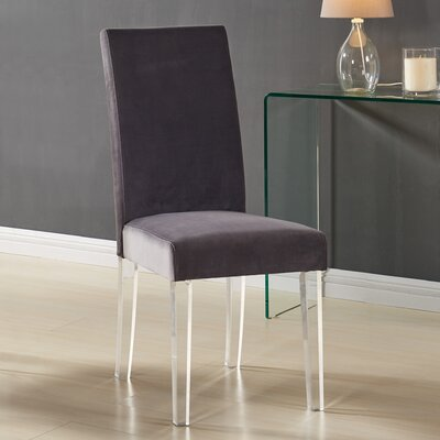 Arae Parsons Chair Upholstery: Gray