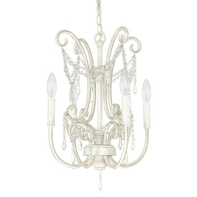 Fostoria 4-Light Crystal Chandelier