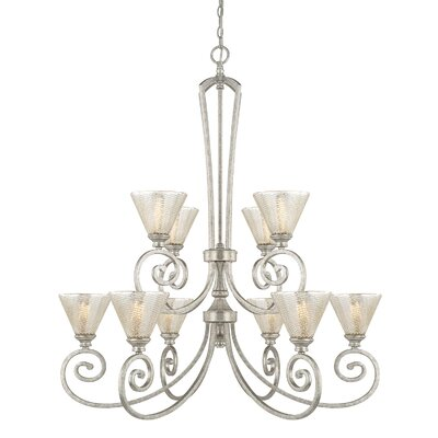 Ritchie 10-Light Shaded Chandelier