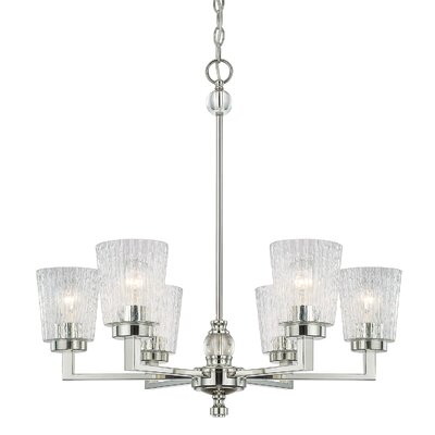 Reiin 6-Light Shaded Chandelier