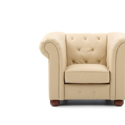 Katherina Armchair Color: Beige