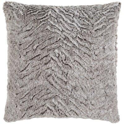 Nathon Pillow Cover Size: 20 x 20, Color: Gray/Neutral