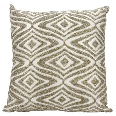 Anthea Beaded Waves Throw Pillow