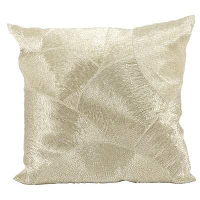 Sledmere Design Throw Pillow Color: Silver