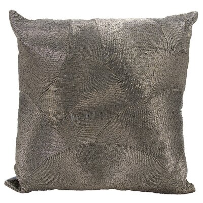 Sledmere Design Throw Pillow Color: Pewter