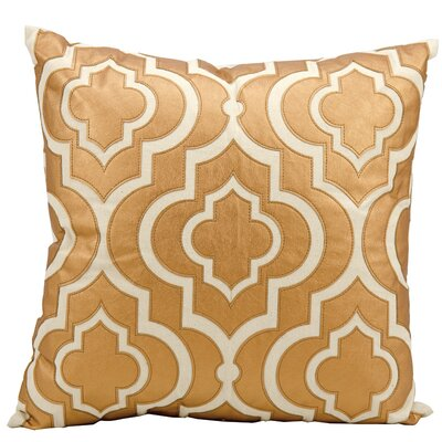 Vivaan Laser Cut Lantern Throw Pillow Color: Copper
