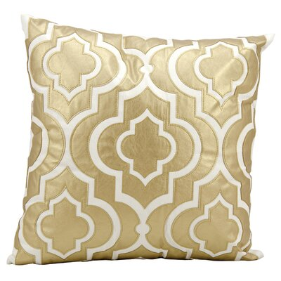 Vivaan Laser Cut Lantern Throw Pillow Color: Gold