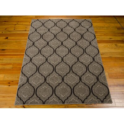 Gabor Brown Area Rug Rug Size: 39 x 59