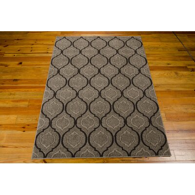 Gabor Brown Area Rug Rug Size: 79 x 106