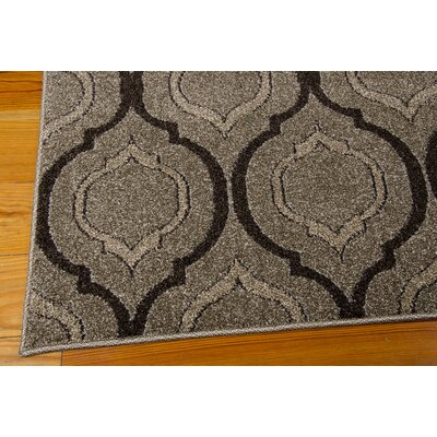 Gabor Brown Area Rug Rug Size: Runner 22 x 76