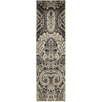 Gabor Light Gray Area Rug Rug Size: Runner 22 x 76