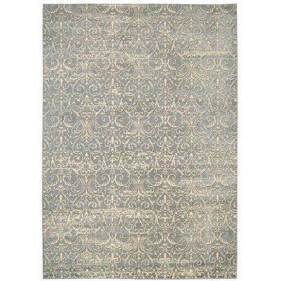 Stonington Cobalt Area Rug Rug Size: Rectangle 53 x 75