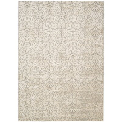 Stonington Beige Area Rug Rug Size: Rectangle 35 x 55