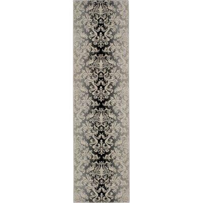 Goetz Charcoal Area Rug