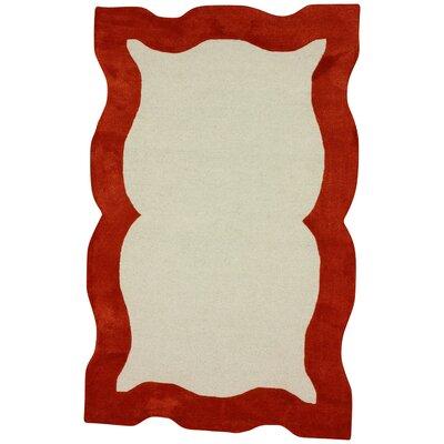 Rocha Orange Area Rug Rug Size: 76 x 96