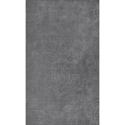 Corbyn Hand-Woven Gray Area Rug Rug Size: Rectangle 5 x 8